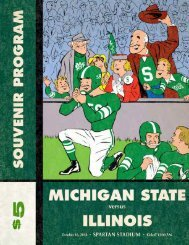 msu spartan marching band 2010 - College Football Dvds-Media ...