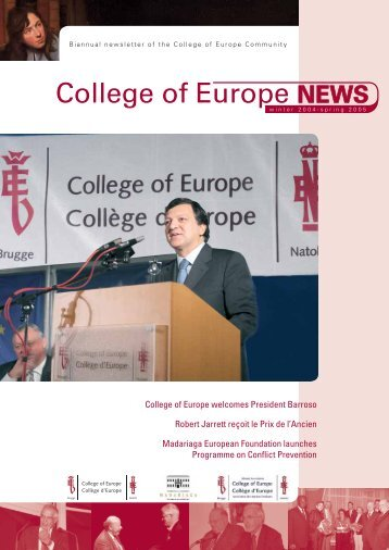 College of Europe NEWS