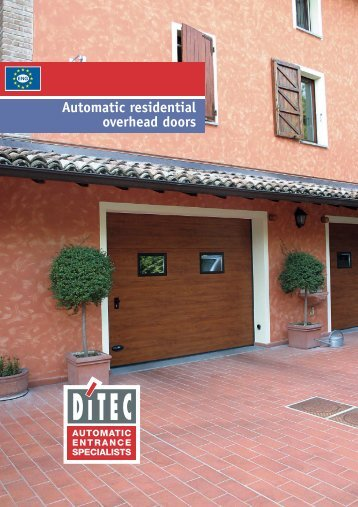 Automatic residential overhead doors