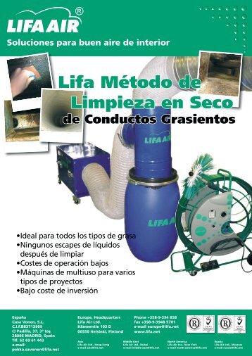 Lifa Método de Limpieza en Seco - Lifa.net
