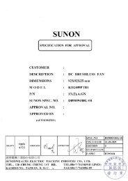 SUNON - Elektronik Lavpris Aps