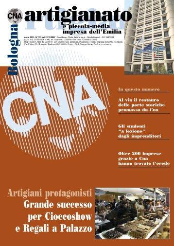 bologna artigianato dicembre 2007 - CNA Informa