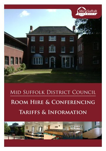 competitive rates - Mid Suffolk District Council