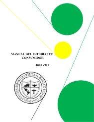 MANUAL DEL ESTUDIANTE CONSUMIDOR - Recinto de Arecibo