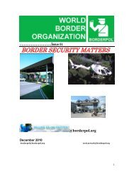 Border security matters - UNSA Douanes