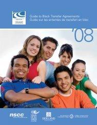 Atlantic Provinces Community College Block Transfer Guide