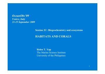 Yap_CoralsHabitats_2.. - OceanObs'09