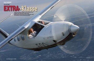 PILOT REPORT - Extra Aircraft