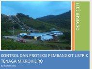 kontrol dan proteksi pembangkit listrik tenaga mikrohidro o kto ber ...