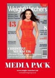 Weight Watchers Mediadaten Magazin 2012