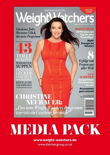 Weight Watchers Mediadaten Magazin 2012