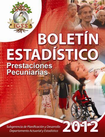 Año 2012 - Instituto Guatemalteco de Seguridad Social