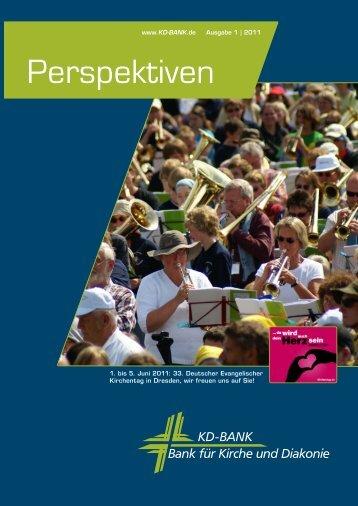Perspektiven Ausgabe 1/2011.pdf - KD-Bank