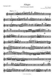 3 - Clarinet Institute Home Page