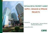 Retail Presentation - CBRE