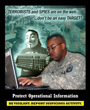 Protecting Operational Information - Army OneSource