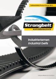 V-belts - Hermann Wendler GmbH