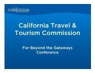 Booking - California Tourism