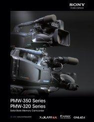 PMW-350 Series PMW-320 Series - CEV