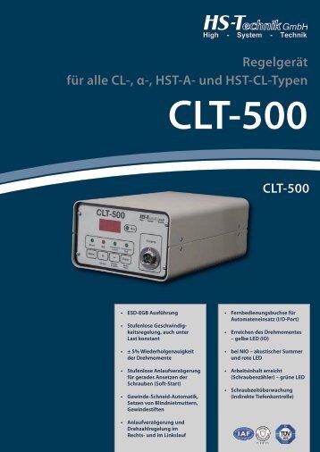 CLT-500 Regelger