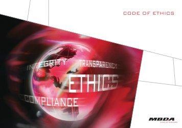 PDF CODE OF ETHICS English version - MBDA