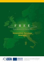 Innovation Services Analysis - FREE - From Research to Enterprise