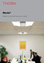 Download Menlo³ Brochure [PDF/6MB] - THORN Lighting