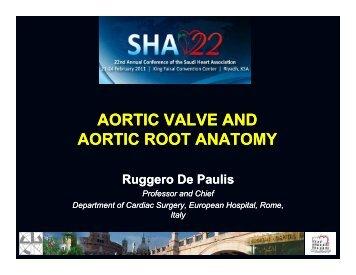aortic valve and aortic valve and aortic root anatomy - Sha ...