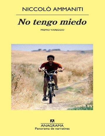 Ammaniti Niccolo - No Tengo Miedo.PDF