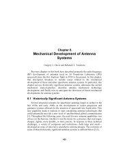 Mechanical Development of Antenna Systems - DESCANSO - NASA