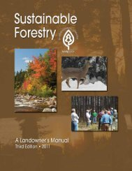 Sustainable Forestry Landowner's Manual - Minnesota Logger ...
