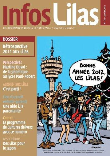 Rétrospective 2011 aux Lilas - Les Lilas