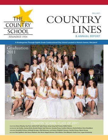 2010-11 Donor Report - The Country School