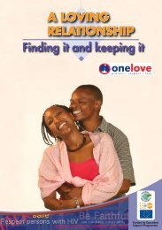 A LOVING RELATIONSHIP Finding it and keeping it
