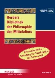 Ich möchte den Preisvorteil nutzen und bestelle zur ... - Verlag Herder