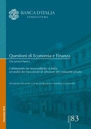 L'affidamento dei lavori pubblici in Italia - Itaca