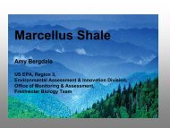 EPA Powerpoint Presentation on Marcellus Shale Wastewater