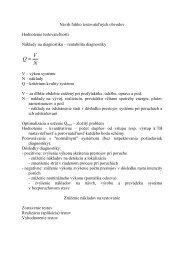 Návrh ľahkotestovateľných obvodov - Hornad