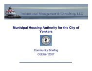 Municipal Housing Authority for the City of Yonkers - Mhacy.com