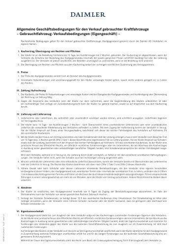 Allgemeine Geschäftsbedingungen für den Verkauf ... - Schmolck