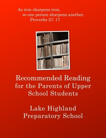 recommended reading parents v3 - Lake Highland Preparatory School