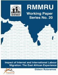 workingpaper20 - Refugee and Migratory Movements Research Unit