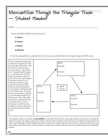 triangular trade worksheet for high schoolers triangular best free printable worksheets. Black Bedroom Furniture Sets. Home Design Ideas