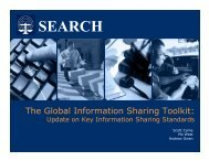 The Global Information Sharing Toolkit Update - SEARCH - National ...