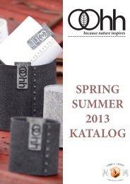 SPRING SUMMER 2013 KATALOG