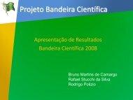 Projeto Bandeira Científica - Instituto de Engenharia