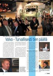 Volvo – turvallisesti tien päällä s. 20