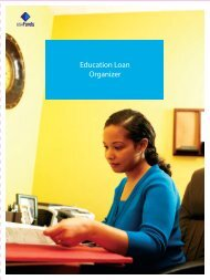 Education Loan Organizer - USA Funds