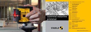 Lazeriniai matavimo prietaisai