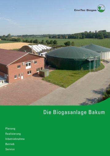 Biogasanlage Bakum - EnviTec Biogas AG
